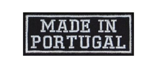 Made in Portugal Biker Patches écusson MOTORCYCLE MC country Nation Area Origin