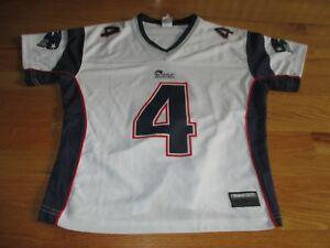 separation shoes 5828c 6fdb6 Details about ADAM VINATIERI No. 4 NEW ENGLAND PATRIOTS (Youth SM) Jersey  WHITE