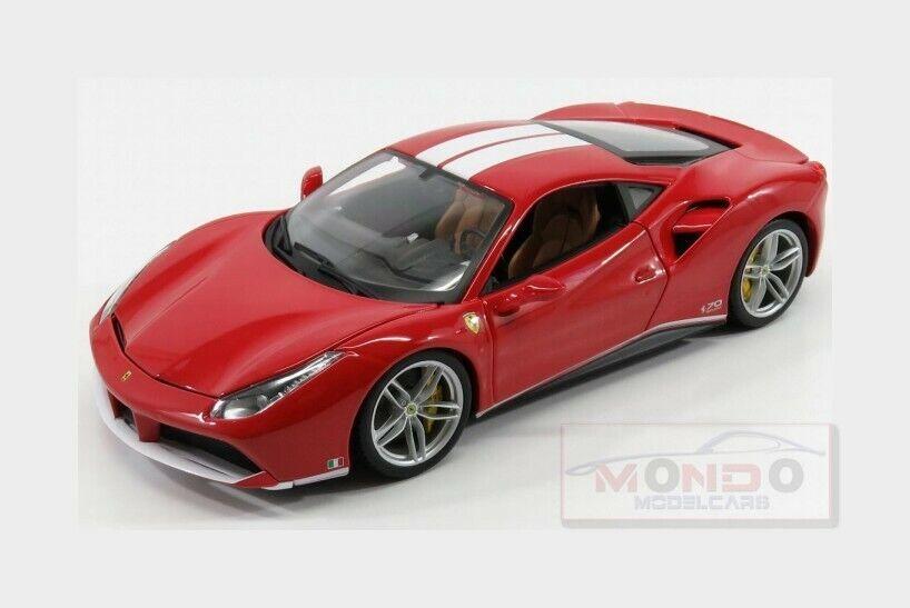 Ferrari 488 Gtb  The Schumacher  2015 70Th Anniversary Coll.BURAGO 1 18 BU76102