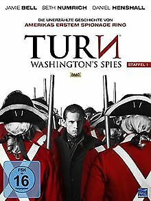 Turn-Washington-039-s-Spies-Staffel-1-Episode-1-10-im-4-D-DVD-Zustand-gut