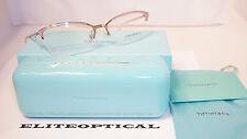 New Authentic TIFFANY & CO. RX Eyeglasses Slr Pink Half Rim/Clr TF1102 6001 55