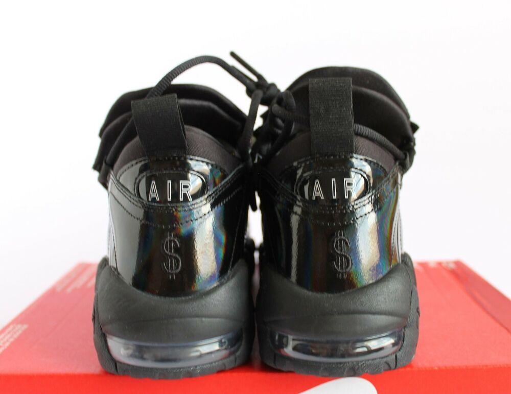 designer fashion 68ab3 4dd51 ... NIKE WOMEN AIR AIR AIR MORE MONEY LX Noir-SUMMIT BLANC Homme Chaussures  de sport ...