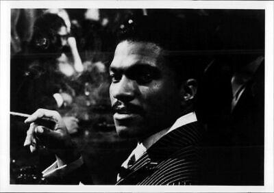 8x10 photo Billy Dee Williams smoking