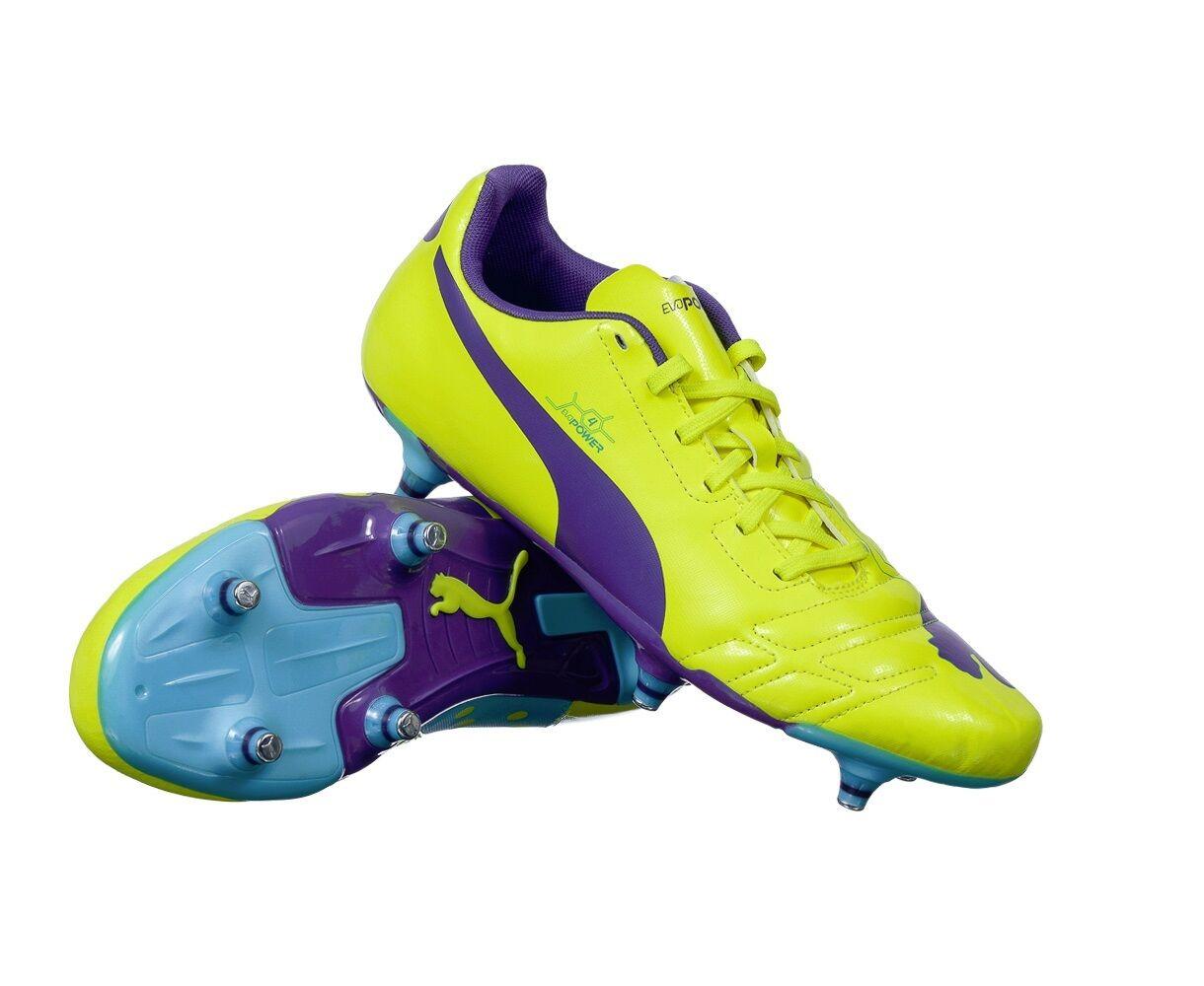 PUMA EVOPOWER 4 - MENS SOFT GROUND FOOTBALL BOOTS - 102954 02 - BRAND NEW