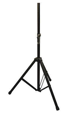 Genuine Njs Black 35mm Adjustable Heavy Duty Steel 60kg Max Sound Speaker Stand