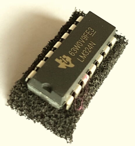 ref:384 LM324N Single Supply Quad Operational Amplifier LM324