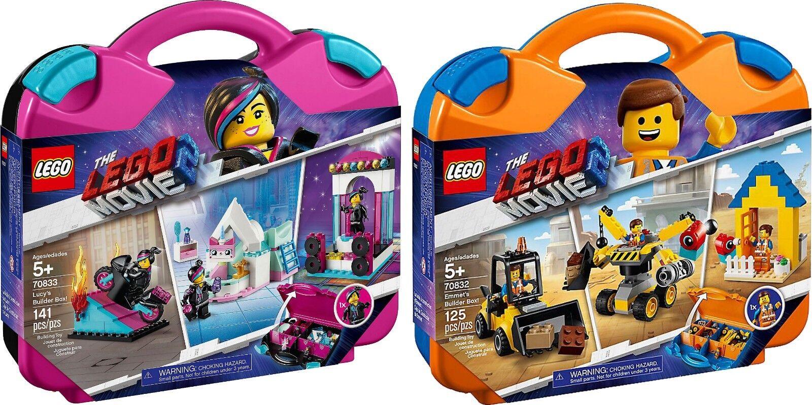 LEGO ® THE LEGO MOVIE 2™ 70833 70832 Emmets und Lucys Baukoffers