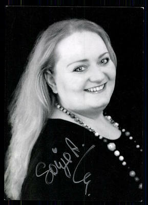 FäHig Sonja Atlas Sister Act Autogrammkarte Original Signiert ## Bc 31884 Elegant Im Stil National