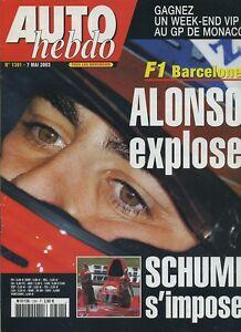 AUTO-HEBDO-n-1391-du-7-Mai-2003-GP-ESPAGNE-MERCEDES-C30-CDI-AMG