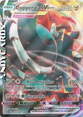 Fiammeggiante Tenebre carte singole V//VMAX//HYPER RARE 01-201//189 spada /& Scudo