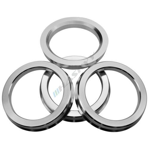4 Zentrierringe Aluminium Alu 72,6-60,1 REIFEN GUNDLACH Brock,Keskin Tuning