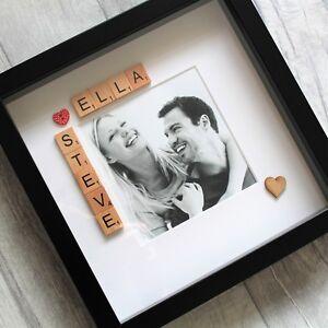 Valentines Girlfriend Boyfriend Personalised Photo Frame Gift