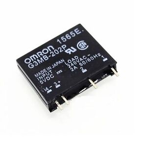 G3MB-202P-5VDC DC-AC PCB SSR In 5V DC Out 240V AC 2A Solid State Relay GFC 747710533854