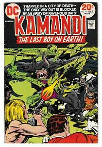 KAMANDI-10-FN-Jack-Kirby-Art-amp-Story-Classic-DC-Last-Boy-On-Earth-1973