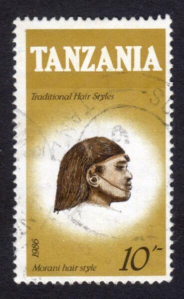 2019 Nouveau Style Tanzanie: Traditionnelles Coupes De Cheveux (10 S Morani Valeur Uniquement); Fine Used Condition