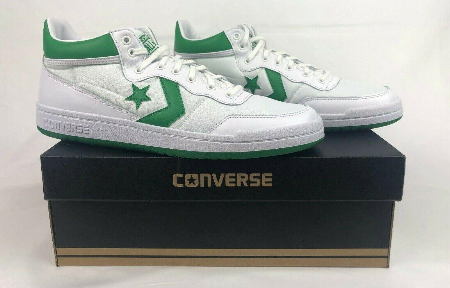 79a24d86eb20 Converse Fastbreak 83 1983 Lunarlon Vintage White Green Retro Men ...