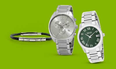 Orologi e gioielli fino a -50%