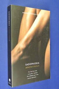 SADOPAIDEIA-Anonymous-BOOK-Erotic-Novel-Sadomasochism-in-English-Society-BDSM