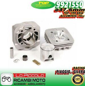 9921550 GRUPPO TERMICO TOP TPR 70CC D.47,6 PIAGGIO FREE 50 2T SP.12 ALLUMINIO