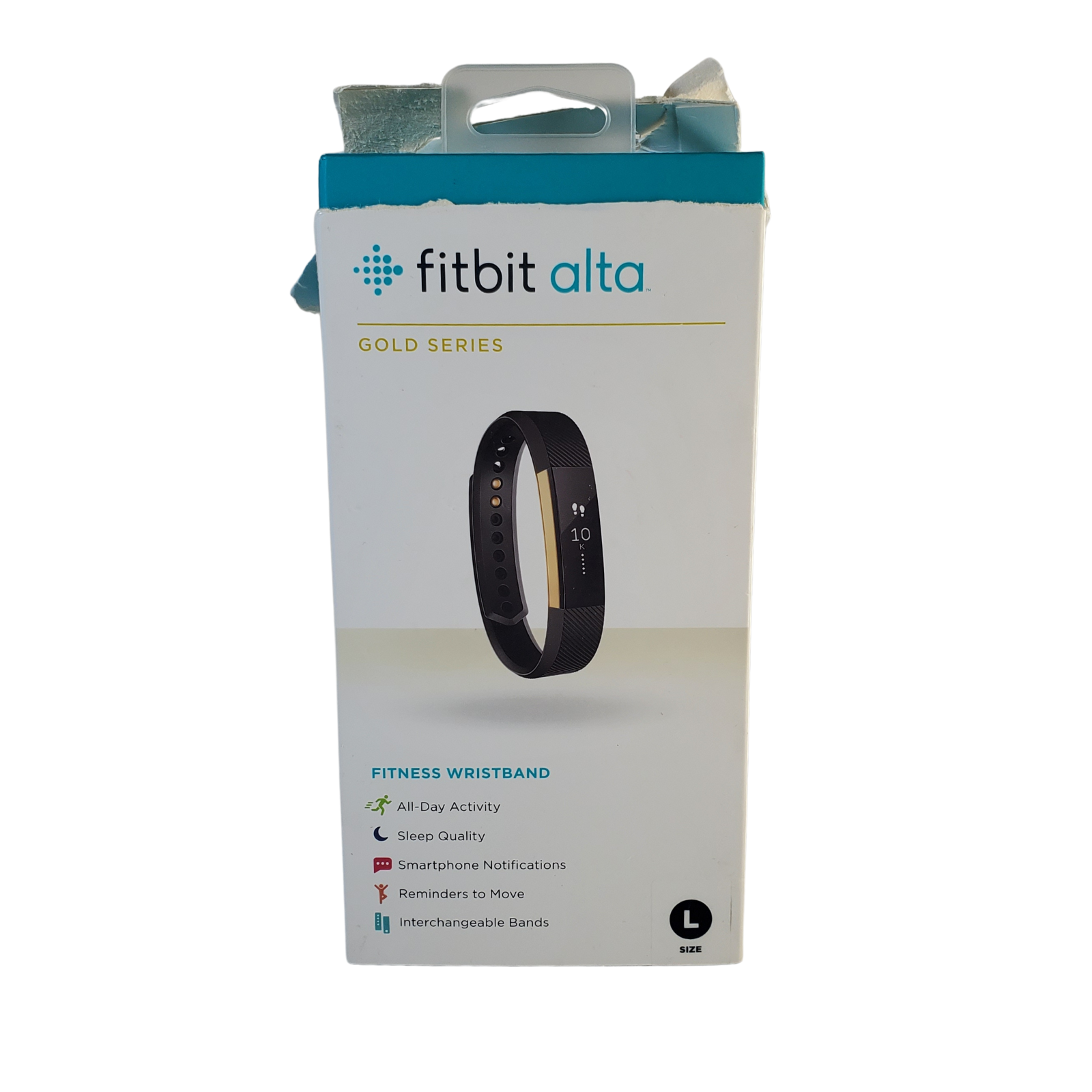 Fitbit Alta Fitness Tracker   OLED   Limited Edition Gold Series   Large