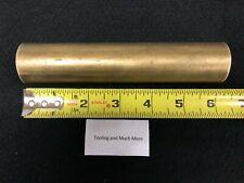 1 14 125 Round Brass Rodbar 600 Long Lathe Or Milling Stock