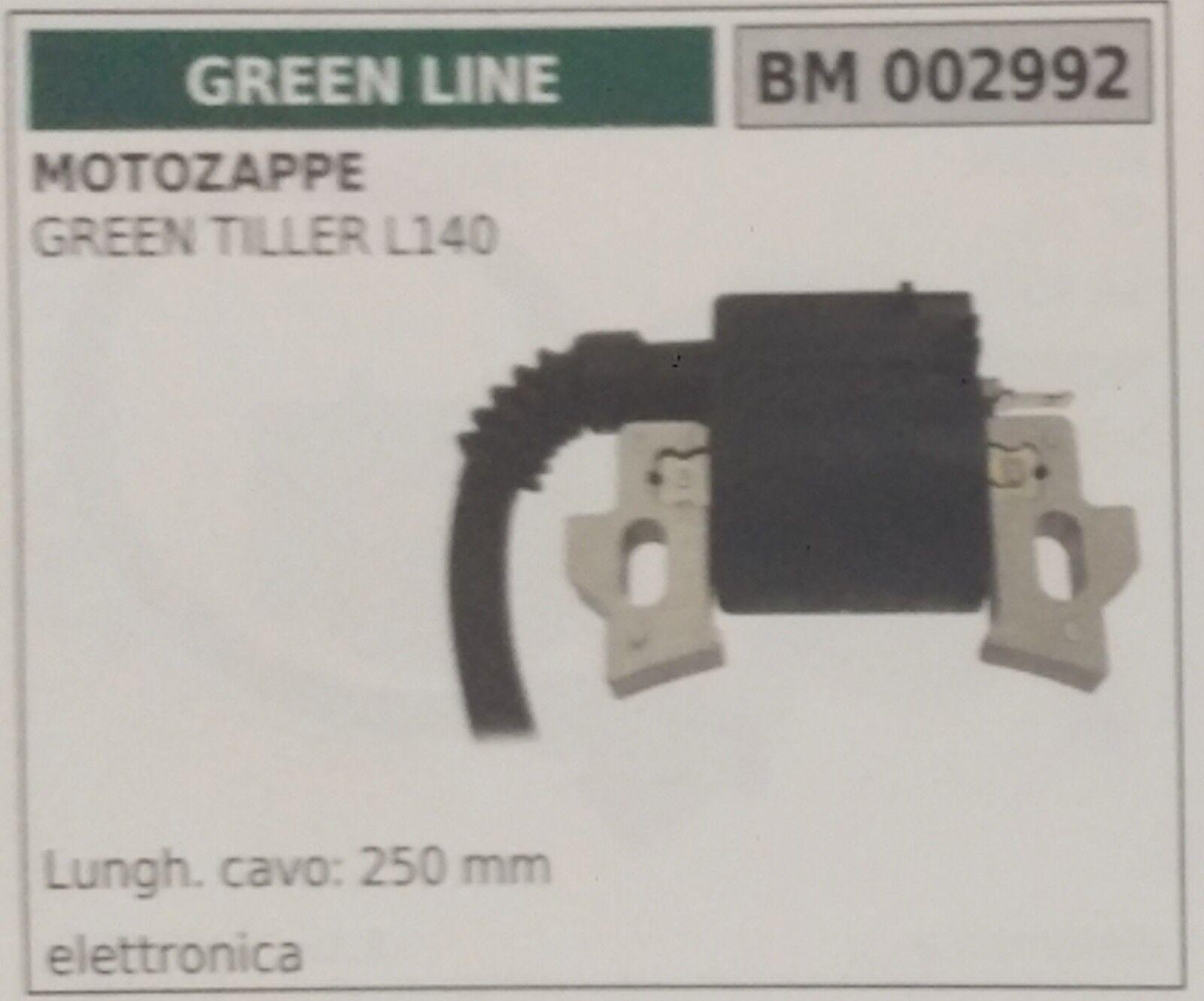 BOBINA ELETTRONICA MOTOZAPPA motozappe verde LINE verde TILLER L140