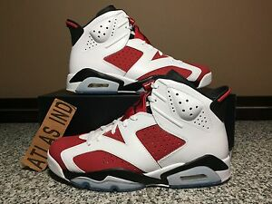 b246430dbf4 AIR JORDAN 6 RETRO Carmine Nike VI 1 3 4 5 7 11 12 13 Infrared DB ...