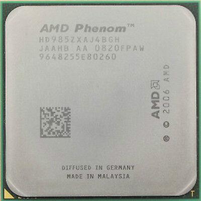 AMD Quad Core CPU Phenom X4-9850  2.5GHz Socket AM2+