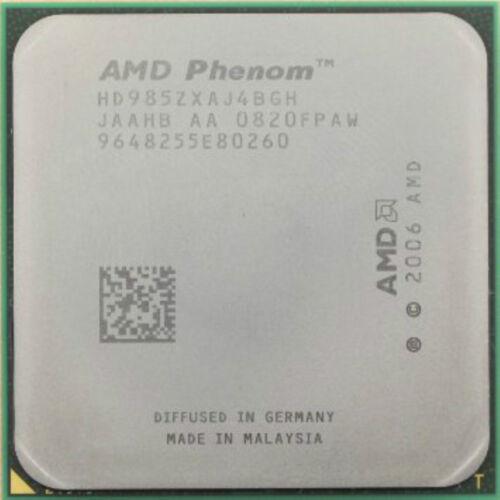 Black Edition AMD CPU Phenom X4-9850  2.5GHz Socket AM2