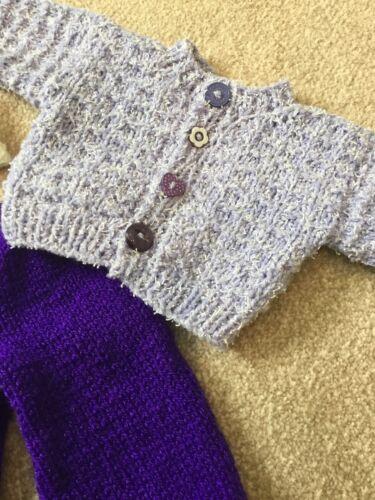 environ 40.64 cm poupée Poupées tenue tricoté à la main pour s/'adapter 16 in