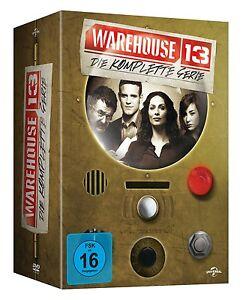 WAREHOUSE 13 DIE KOMPLETTE DVD COLLECTION STAFFEL 1 2 3 4 5