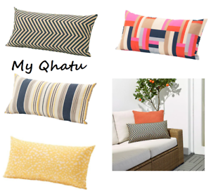 Ikea Greno Outdoor Pad Cushion Cover 23 1 4 X 11 3 4 Multicolor Ebay
