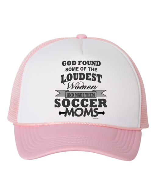 Great Moms Get Promoted To Grandmas Adjustable Trucker Hat Cap
