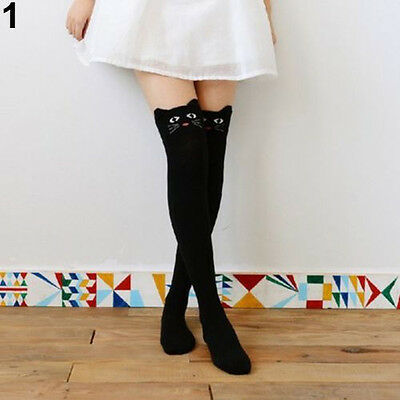 WOMEN EXQUISITE 3D CARTOON ANIMAL THIGH STOCKING LADY OVER KNEE HIGH SOCKS GIFT