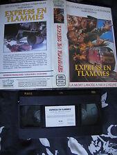 Express En Flammes de Andrei Malioukov, VHS VIP, Action, RARE!!