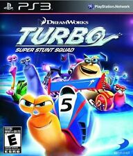 Turbo: Super Stunt Squad (Sony PlayStation 3) PS3 new sealed video game racing