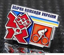 OLYMPIC PINS BADGE 2012 LONDON ENGLAND UK RUSSIA INTERNAL COUNTRY NOC CYCLING