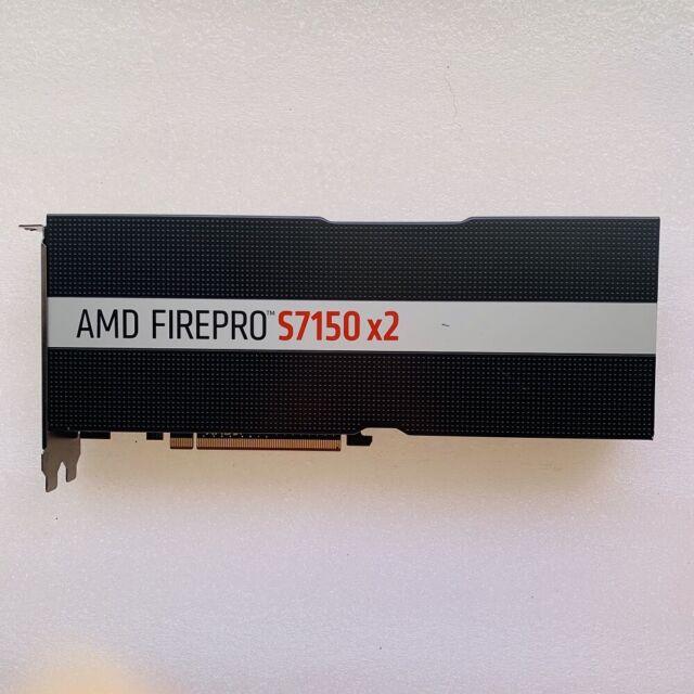AMD FirePRO S7150x2 16GB GDDR5 Server Workstation GPU Accelerator Card S7150 x2