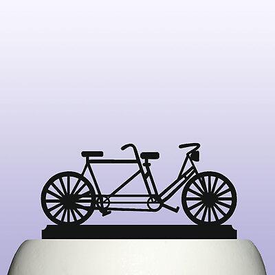 Surprising Personalised Acrylic Tandem Bicycle Birthday Cake Topper Personalised Birthday Cards Xaembasilily Jamesorg