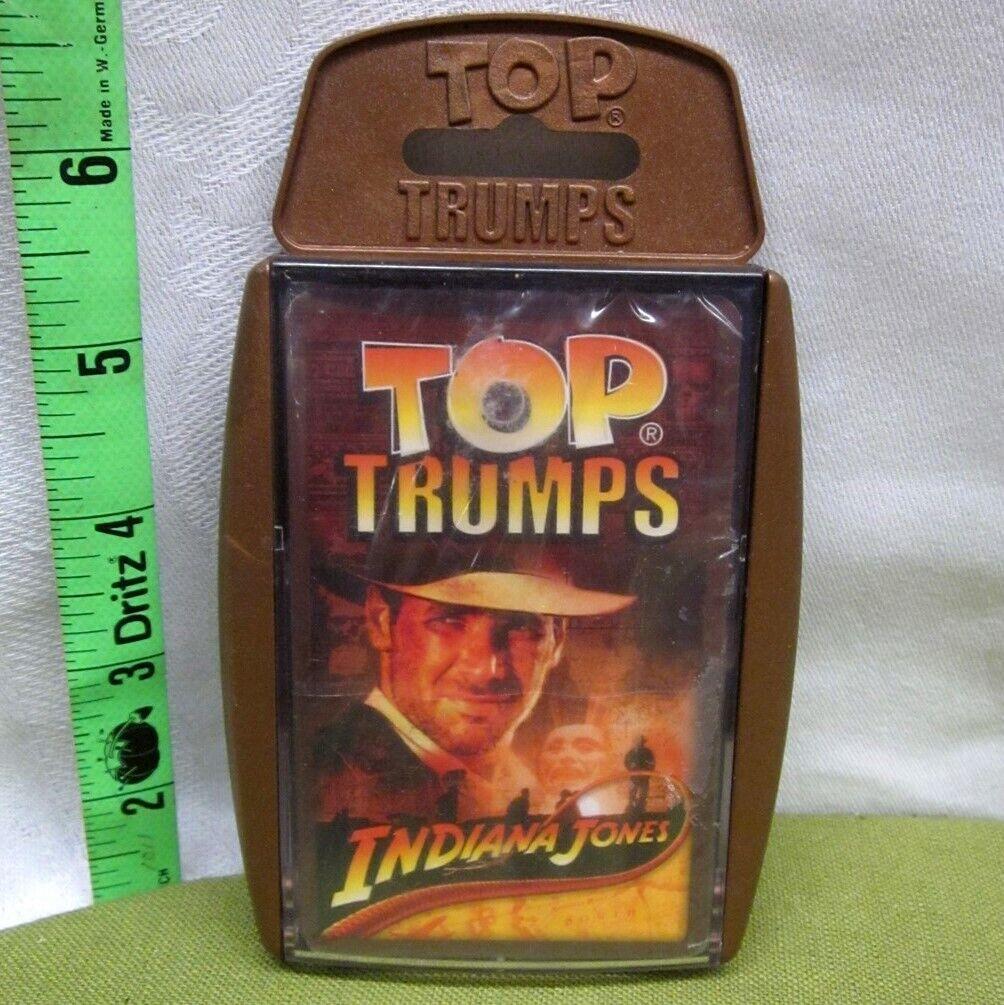INDIANA JONES adventure Lost Ark autod gioco  NWT war Top Trumps 2008 Harrison Ford  100% autentico