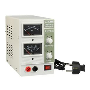 """30 W Netzgerät Labornetzteil regelbares Labornetzgerät /""""CTL-1502/"""" 0-15V 0-2A"""