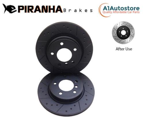 Front Alvéolé Rainuré Disques de frein pour VW Passat Touran Tiguan Sharan Jetta 312 mm