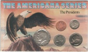 1967-1994-The-American-Series-The-Presidents-Set-of-5-Collectible-Coins