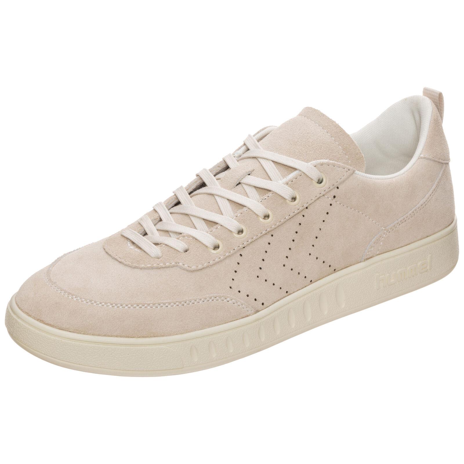 Hummel Super Trimm Casual Sneaker Beige NEU Schuhe Turnschuhe