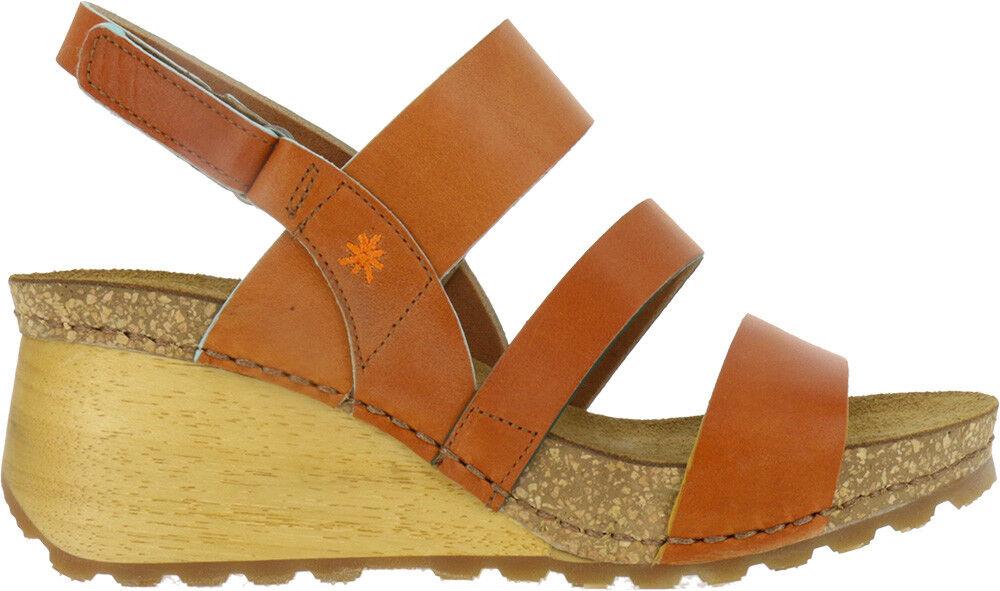 THE sandalo ART COMPANY COMPANY ART 1320 BORNE sandalo THE donna cinturino zeppa 0cba9a