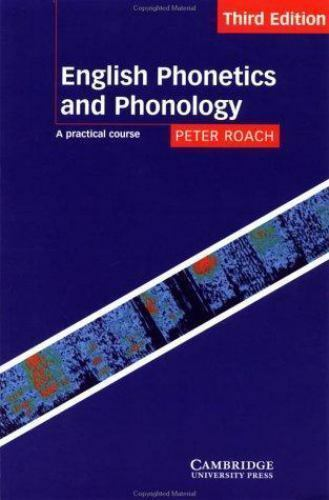 Peter Roach English Phonetics And Phonology 4th Edition Pdf