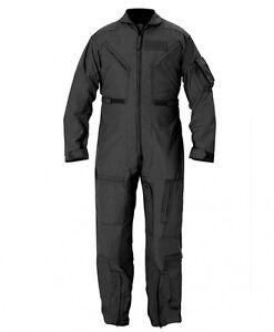 New USAF USN Nomex CWU-27//P Flight Suit Flyers Coveralls Desert Tan 44S 44 Short