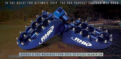 Kawasaki KXF450 2011 2012 2013 2014 Wide Black Footpegs Foot Pegs RHK-F05-K