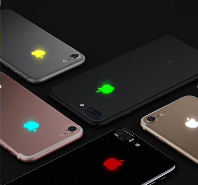 wholesale dealer 2a392 30d66 HOT 15 Color Touchable Intelligent Led Light Touch Glowing Logo iPhone 6s 7  Plus