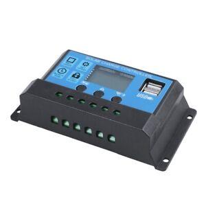 30A-12-V-24-V-LCD-Intelligenz-Auto-Regulieren-PWM-Solar-Batterie-Laderegl-M2B2